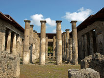 Rovine di Pompeii Fotografie Stock