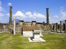 Rovine di Pompeii Immagini Stock