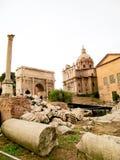 Rovine di Roma immagini stock