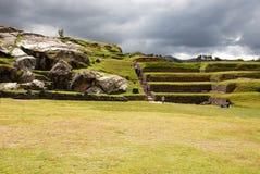Rovine di Sacsayhuaman in Cusco - Peru South America fotografia stock libera da diritti