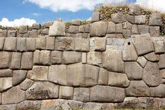 Rovine di Sacsayhuaman in Cusco - Peru South America fotografie stock