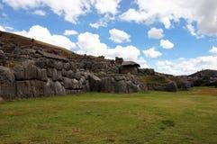 Rovine di Sacsayhuaman in Cusco - Peru South America fotografia stock