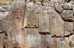 Rovine di Sacsayhuaman in Cusco - Peru South America immagine stock libera da diritti