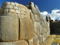 Rovine di Sacsayhuaman, Cuzco, Perù. Immagini Stock
