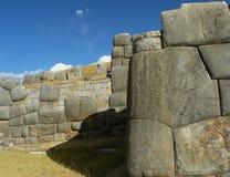 Rovine di Sacsayhuaman, Cuzco, Perù. Immagine Stock Libera da Diritti