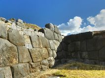 Rovine di Sacsayhuaman, Cuzco, Perù. Fotografia Stock Libera da Diritti