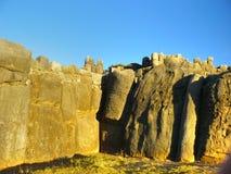 Rovine di Sacsayhuaman, Cuzco, Perù. Immagine Stock