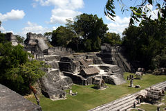 Rovine di Tikal Fotografie Stock