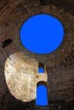 Rovine di una città antica, spaccatura, Croatia Fotografia Stock Libera da Diritti