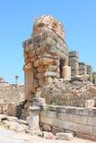 Rovine di una costruzione antica Immagine Stock