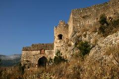 Rovine di una fortezza veneziana medioevale Fotografie Stock Libere da Diritti