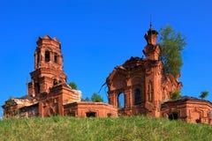 Rovine di vecchia chiesa Immagini Stock Libere da Diritti