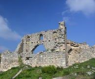 Rovine di vecchia città - Crimea Immagine Stock
