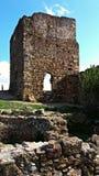 Rovine di vecchio castello Fotografie Stock Libere da Diritti