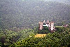 Rovine di vecchio castello Immagini Stock Libere da Diritti