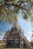 Rovine di Wat Phra Si Sanphet, Fotografie Stock