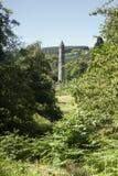 Rovine e cimitero di Glendalough Immagini Stock Libere da Diritti