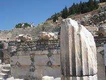 rovine, Efes immagini stock libere da diritti