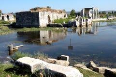 Rovine in Efes, Turchia, 9 Fotografia Stock