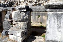 Rovine in Efes, Turchia, 10 Fotografie Stock