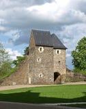 Rovine francesi dell'abbazia Fotografia Stock Libera da Diritti