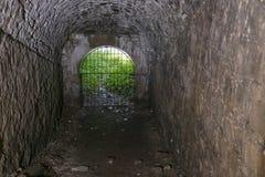 Rovine interne del castello Fotografie Stock