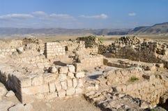 Rovine Khor Rouri nell'Oman fotografia stock