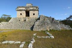 Rovine maya di Dzibilchaltun, Yucatan, Messico Fotografie Stock