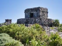 Rovine maya di Tulum - il Messico immagine stock libera da diritti