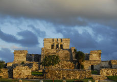Rovine Mayan, Tulum Immagine Stock Libera da Diritti