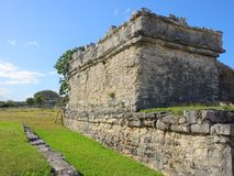 Rovine Mayan in Tulum Fotografia Stock