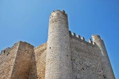Rovine medievali del castello Immagine Stock