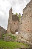 Rovine medioevali del castello fotografia stock libera da diritti