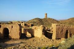 Rovine nell'Oman Fotografia Stock