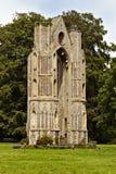Rovine orientali della finestra del ` s del priore dell'abbazia di Walsingham Fotografie Stock Libere da Diritti