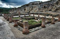 Rovine romane immagine stock