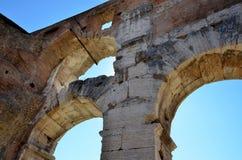 Rovine romane antiche immagine stock