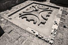Rovine romane della tribuna Immagine Stock