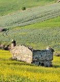 Rovine rurali nel paese italiano Fotografia Stock Libera da Diritti