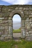 Rovine storiche della cappella Fotografie Stock