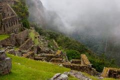 Rovine su una scogliera nelle Ande Fotografia Stock Libera da Diritti