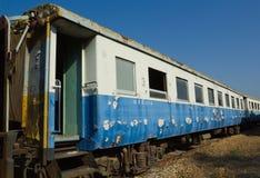 Rovini ed abbandonato il trasporto della terza classe del carrello ferroviario (BTC) Immagini Stock