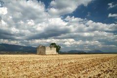 Rovini nei campi Provenza, Francia Immagini Stock