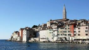 Rovinj σε Istria απόθεμα βίντεο