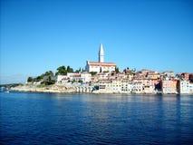 Rovinj, маленький городок в Хорватии Стоковые Изображения RF