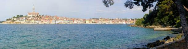 rovinj панорамы Хорватии Стоковое Изображение RF