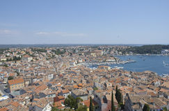 Rovinj. Town of Rovinj, Istria, Croatia royalty free stock images
