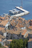 Rovinj. Town of Rovinj, Istria, Croatia stock photography