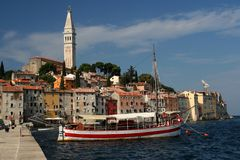Rovinj. Captured in Rovinj - Istra - Croatia during August 2008 Stock Images