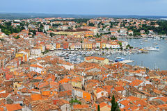 Rovinj aerial Royalty Free Stock Photos
